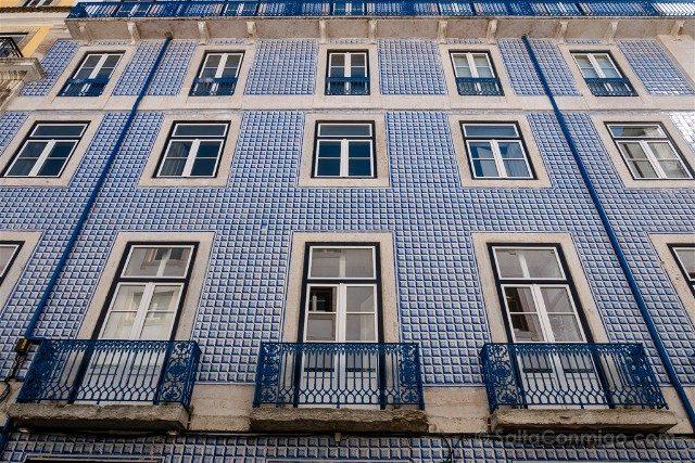 Que ver en Lisboa Alfama Fachada Azulejos