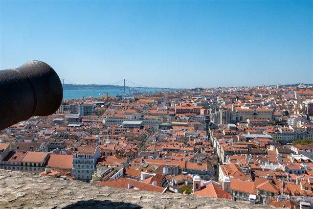 Que ver en Lisboa Castillo San Jorge Vista
