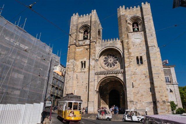 Que ver en Lisboa Catedral Fachada