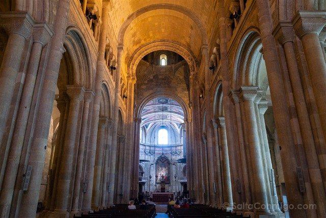 Que ver en Lisboa Catedral Nave Central