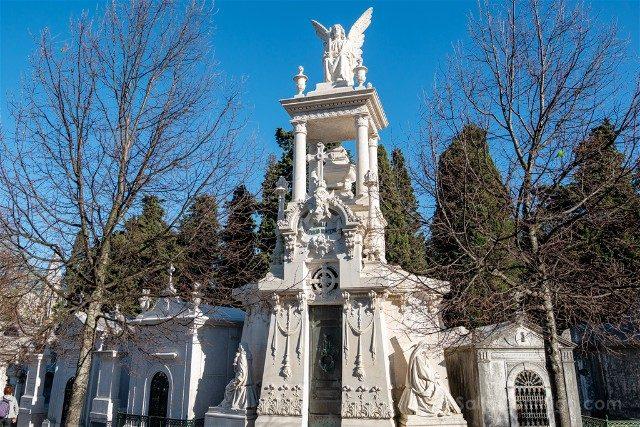 Que ver en Lisboa Cementerio Placeres