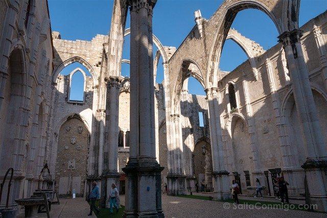 Que ver en Lisboa Convento do Camo Estructura