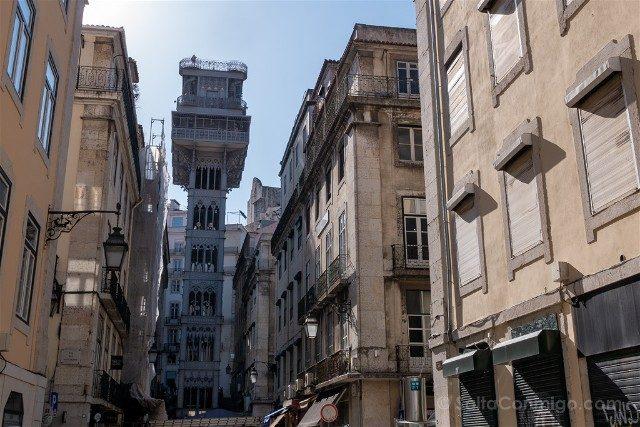 Que ver en Lisboa Elevador Santa Justa
