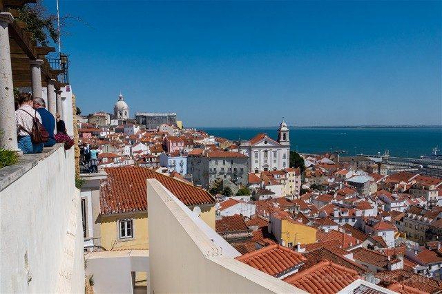 Que ver en Lisboa Mirador Santa Luzia