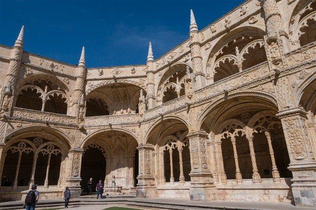 Que ver en Lisboa Monasterio Jeronimos Claustro