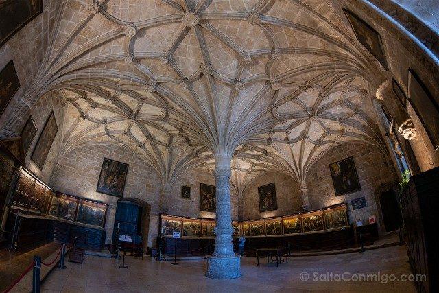 Que ver en Lisboa Monasterio Jeronimos Sacristia