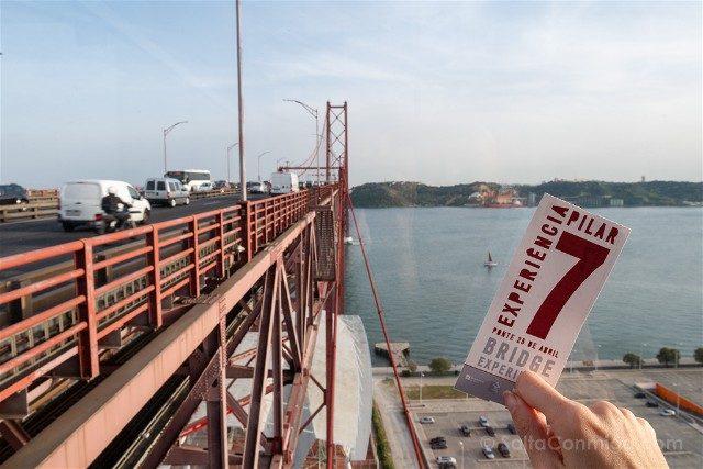 Que ver en Lisboa Pilar 7 Bridge Experience