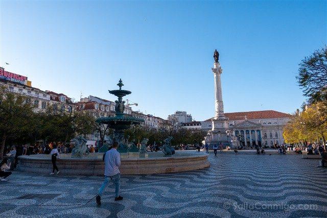 Que ver en Lisboa Praca Rossio
