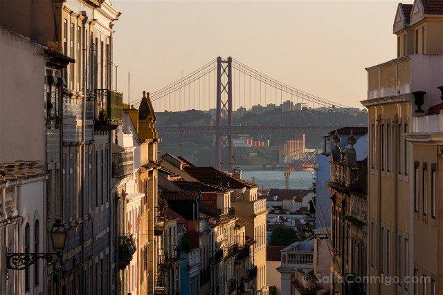 Que ver en Lisboa Puente 25 Abril Parque Principe Real