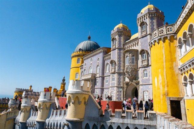 Que ver en Sintra Portugal Palacio Pena