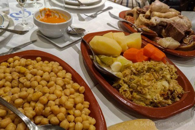 Semana Santa Madrid Cocido Madrileño Casa Carola