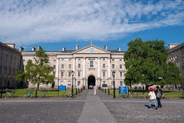 Trinity College Dublin Parliament Square