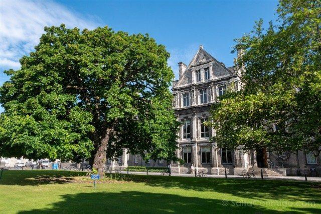 Trinity College Dublin Parque Library Square Sol