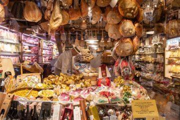 Comer en Bolonia Tienda