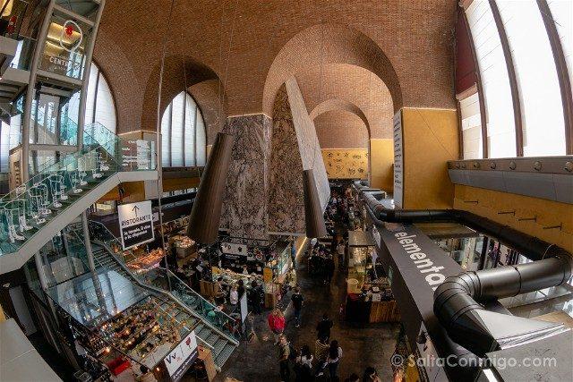 Mercato Centrale Roma Vista
