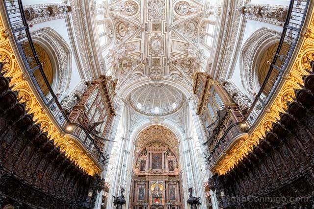 Mezquita Catedral De Cordoba Boveda Crucero