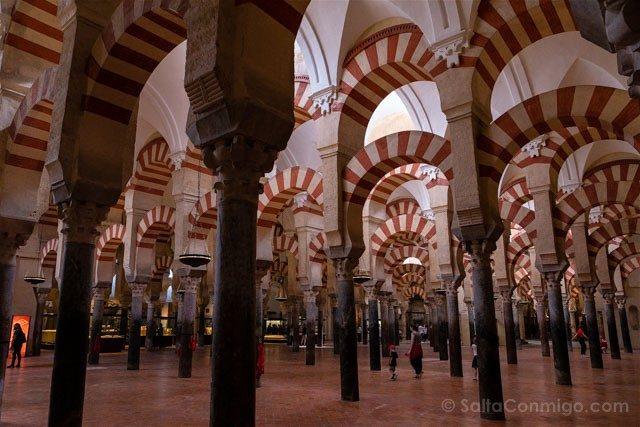 Mezquita Catedral De Cordoba Columnas