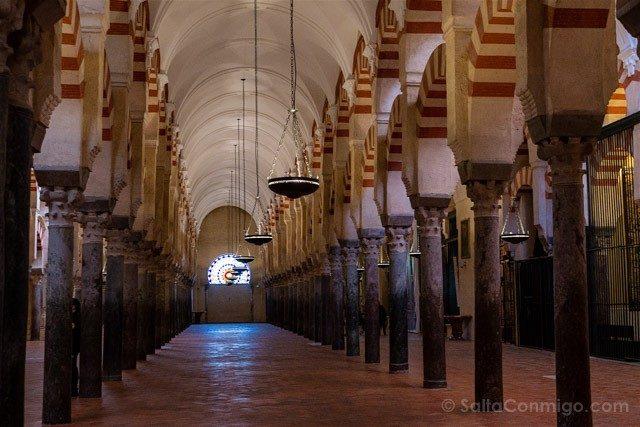 Mezquita Catedral De Cordoba Lineas
