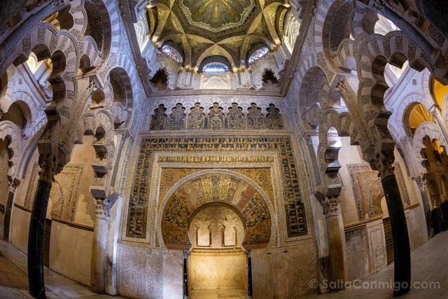 Mezquita Catedral De Cordoba Mihrab