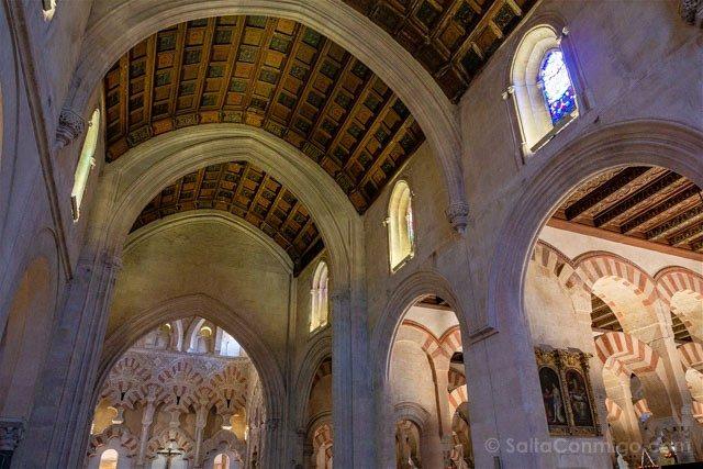 Mezquita Catedral De Cordoba Techo Capilla Villaviciosa
