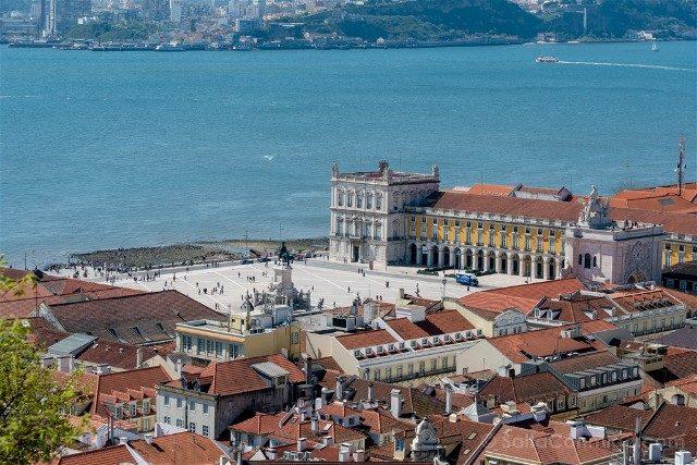 Miradores En Lisboa Castillo San Jorge Plaza Comercio