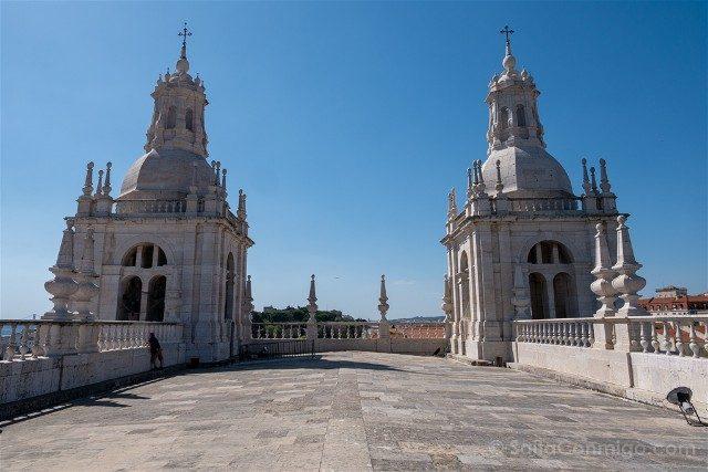 Miradores En Lisboa Iglesia San Vicente Fora Terraza