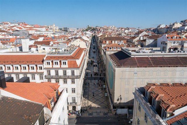 Miradores En Lisboa Mirador Arco Rua Augusta