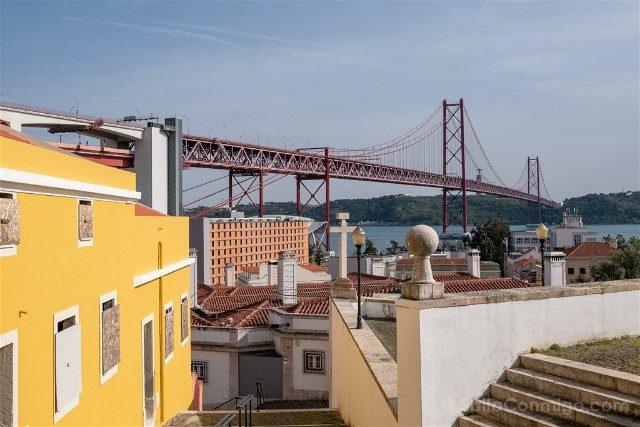Miradores En Lisboa Mirador Santo Amaro Puente