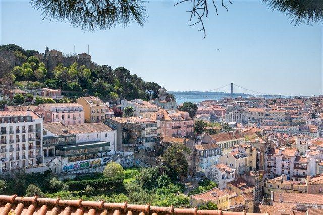 Miradores En Lisboa Mirador de Gracia