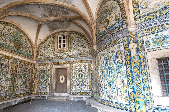 Miradores En Lisboa Santo Amaro Azulejos