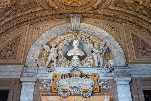 Museos Vaticanos Busto Leon XIII
