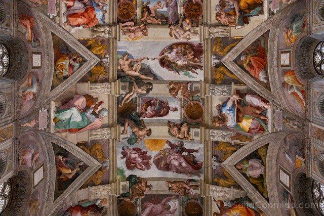 Que ver en Roma en 3 días Capilla Sixtina