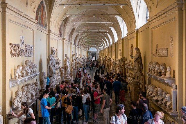 Museos Vaticanos Galeria Escultura Romana