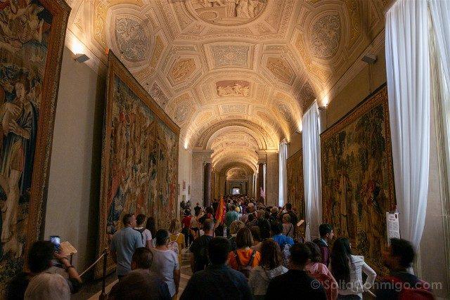 Museos Vaticanos Galeria Tapices
