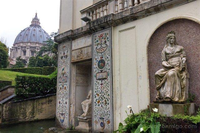 Museos Vaticanos Jardines Palacio Verano