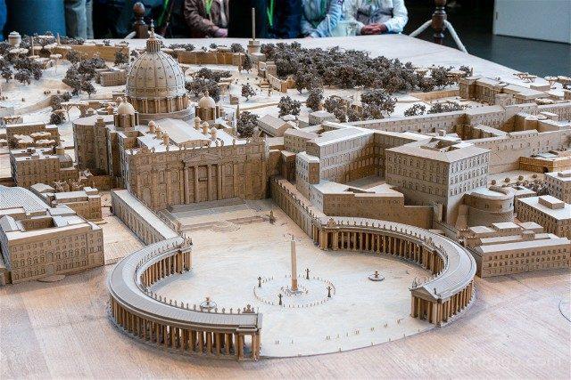 Museos Vaticanos Maqueta Ciudad Vaticano