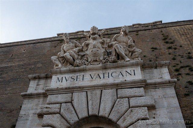 Museos Vaticanos Puerta Entrada