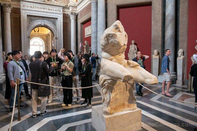 Museos Vaticanos Torso Belvedere