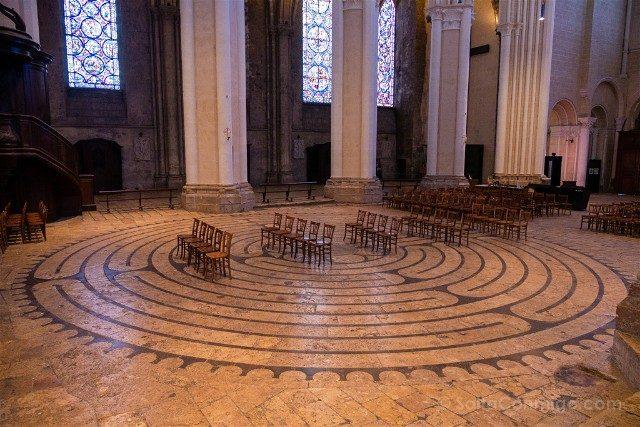 Que Ver en Chartres Catedral Laberinto