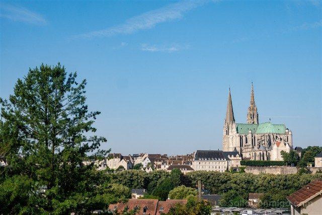 Que Ver en Chartres Vista Arriba