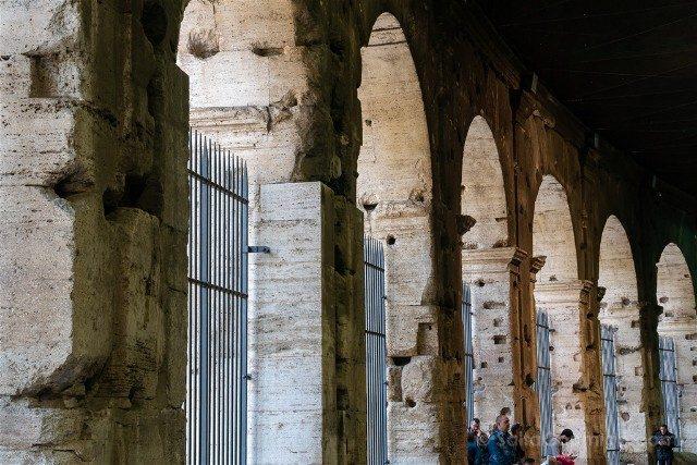 Roma Tour Coliseo Foro Palatino Arcada Coliseo