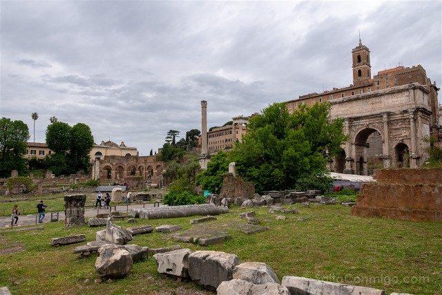 Roma Tour Coliseo Foro Palatino Civitatis Vista Foro