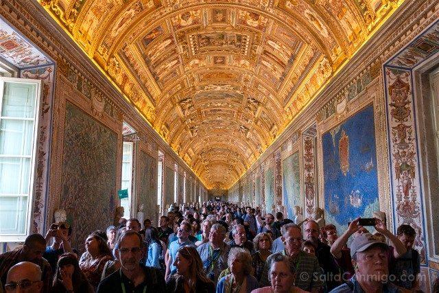 Roma Tour Vaticano Civitatis Museo Galeria Mapas