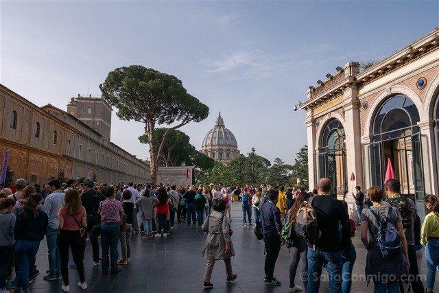 Roma Tour Vaticano Civitatis Patio Cupula San Pedro