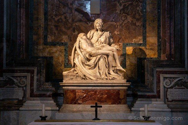 Que ver en Roma en 3 días Basilica San Pedro Piedad