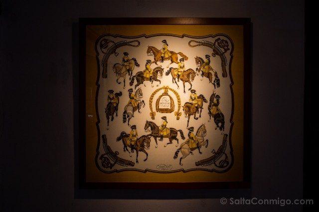 Castillo de Montpoupon Museo Caza Fular Hermes