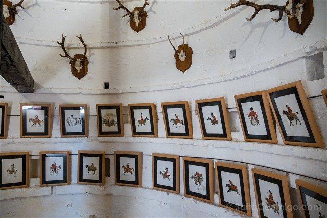 Castillo de Montpoupon Museo Caza Palomar