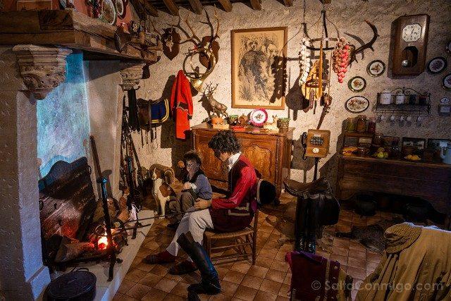 Castillo de Montpoupon Museo Caza Reproduccion Casa Piqueux