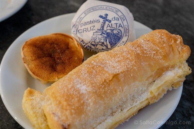 Comer en Sintra Portugal Casa Piriquita Dulces