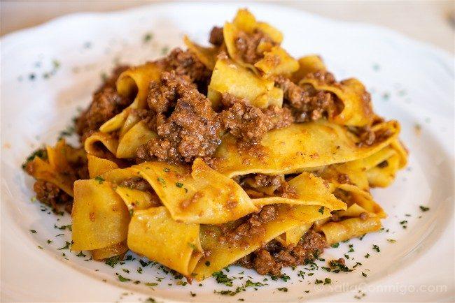 Comer en la Toscana Bottega Volpaia